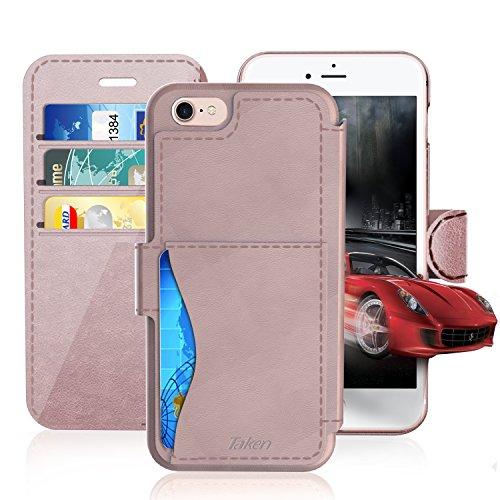 iPhone6 plus ケース TAKEN 高品質PU カバー 革製 てちょうがた ポリカーボネー...