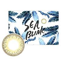 カラコン シーブリンク seablink 1ヶ月 マンスリー 1箱1枚入 【カラー】サンドバー 【PWR】-2.75