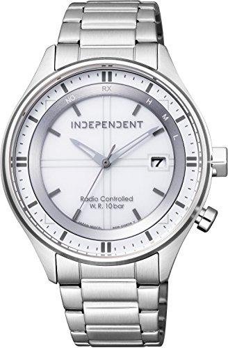 [シチズン] 腕時計 インディペンデント TIMELESS line ソーラーテック 電波時計 KL8-619-11 メンズ