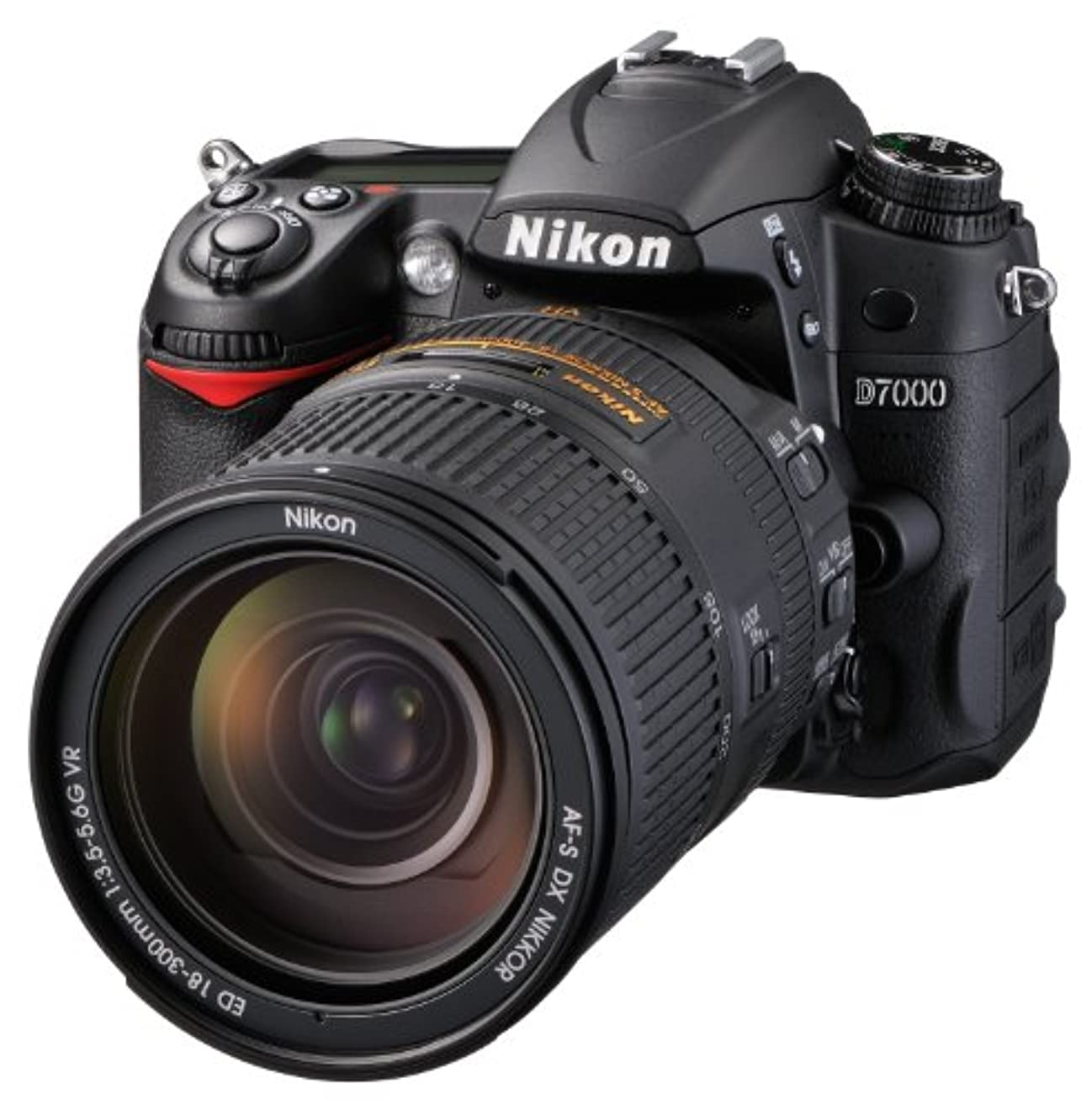 ウールマダムフリルNikon デジタル一眼レフカメラ D7000 スーパーズームキット  AF-S DX NIKKOR 18-300mm f/3.5-5.6G ED VR付属  D7000 LK18-300