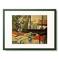 ポール・セリュジエ Serusier, Paul 「Stilleben am Fenster. 1891.」 額装アート作品