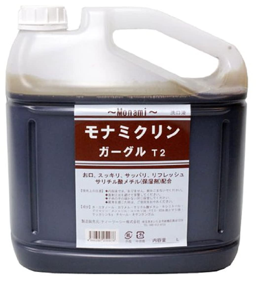 前任者投獄名前で【業務用】モナミ クリンガーグルT2 5リットル サリチル酸メチル配合