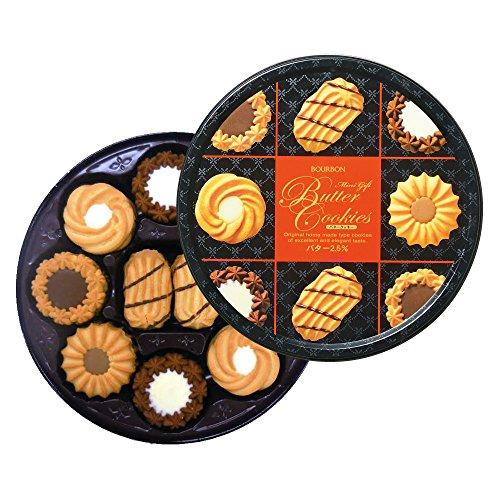 ブルボン ミニギフト バタークッキー缶 ×4箱