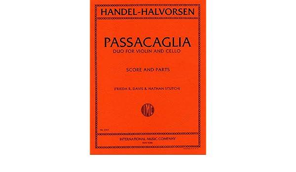 パッサカリア ヘンデル