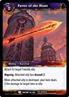 World of Warcraft TCG - Favor of the Hunt (42) - Twilight of the Dragons