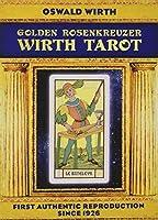 Rosenkreuzer Wirth Tarot - Der Tarot der Meister. Golden Deluxe Edition: (22 Tarotkarten mit Buch)