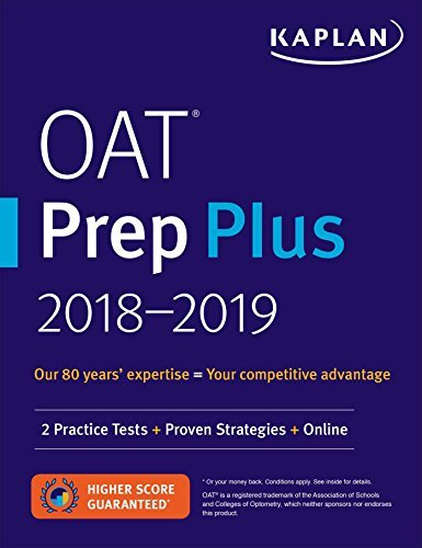 OAT Prep Plus 2018-2019: 2 Practice Tests + Proven Strategies + Online (Kaplan Test Prep) (English Edition)