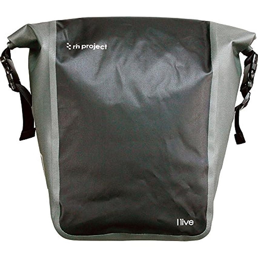 他におなじみのテレビ局rin project(リンプロジェクト) 防水サイドバッグ 自転車用 ワンタッチ取付 1513 ブラック 約20L