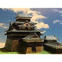 日本100名城 松江城 天守閣 お城 模型 ジオラマ完成品 A5サイズ