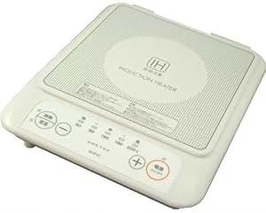 DRETEC コンパクトIH電磁調理器 ホワイト DI-210WT