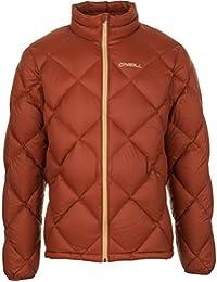 O ' Neill Jones Packable Down Jacket – Men 's Burnt Henna , M