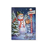 【Cheng-store】DIYの雪だるまとサンタクロースダイヤモンドペインティング、クロスステッチセット 5Dダイヤモンド塗装刺繍 ホームデコレーション(20×25cm)