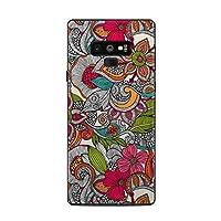 Decalgirl Samsung Galaxy Note 9用スキンシール Doodles Color
