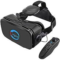 3D VRゴーグル vrメガネ VRヘッドセット 4.0-6.3インチの iPhone android などの スマホ 対応