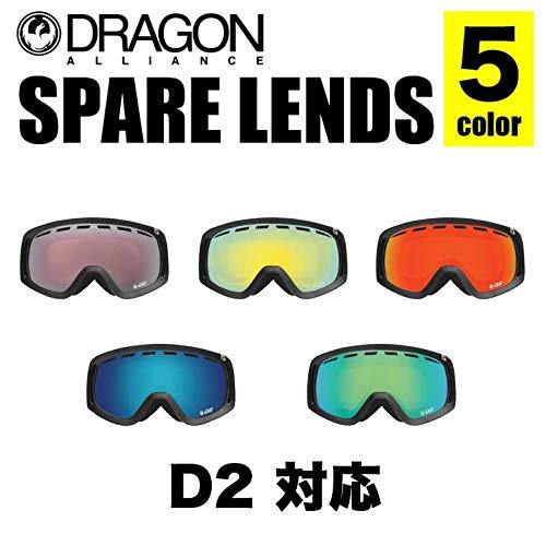 DRAGON ドラゴン スペアレンズ D2 LENS ディーツー レンズ JAPAN D2 J.RED_ION