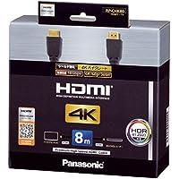 パナソニック ハイスピードHDMIケーブル 4Kハイグレード 8.0m ブラック RP-CHK80-K