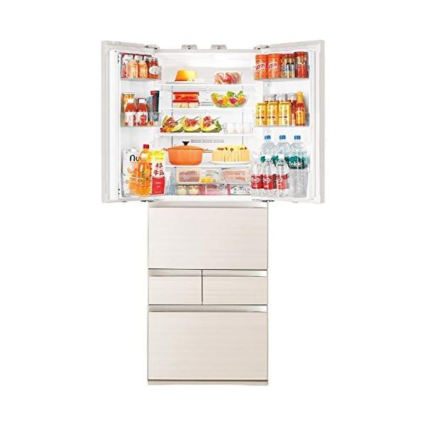 東芝 冷凍冷蔵庫 GR-J460FV(ZC) ...の紹介画像3