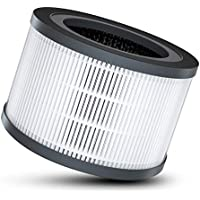 Dreamegg 空気清浄機 交換フィルター HEPAフィルター 脱臭 集塵 タバコ臭・ペット臭・PM2.5・花粉対策 (消臭重視)
