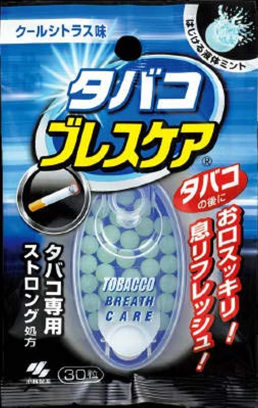 舗装想像力継続中【まとめ買い】タバコブレスケア 30粒 ×6個