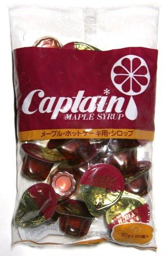 キャプテン メープル入りポーション 20個入 400g