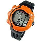[テルバ]TELVA 腕時計 心拍計測機能付 デジタル メンズウォッチ TEV-2513-OR オレンジ メンズ []
