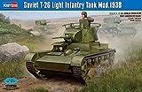 ホビーボス 1/35 ファイティングヴィークルシリーズ ソビエト T-26 軽戦車 1938年型