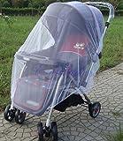 蚊帳 ベビーカー 幼児 赤ん坊 安全なメッシュ ホワイト ビー 昆虫 バグ カバー ベビーカー虫除け