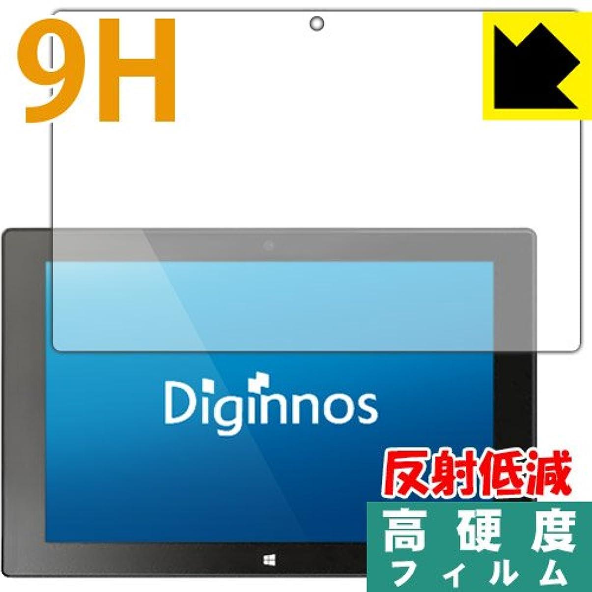 フィード指前投薬PET製フィルムなのに強化ガラス同等の硬度 9H高硬度[反射低減]保護フィルム Diginnos DG-D09IW2シリーズ 日本製