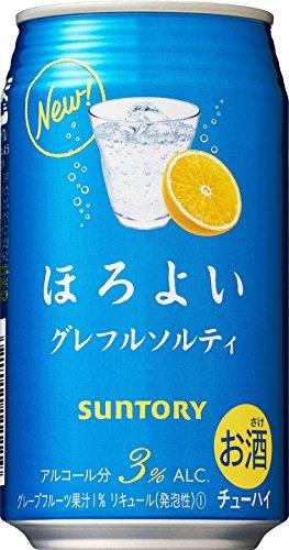 サントリー チューハイ ほろよい <グレフルソルティ> 350ml缶×24本