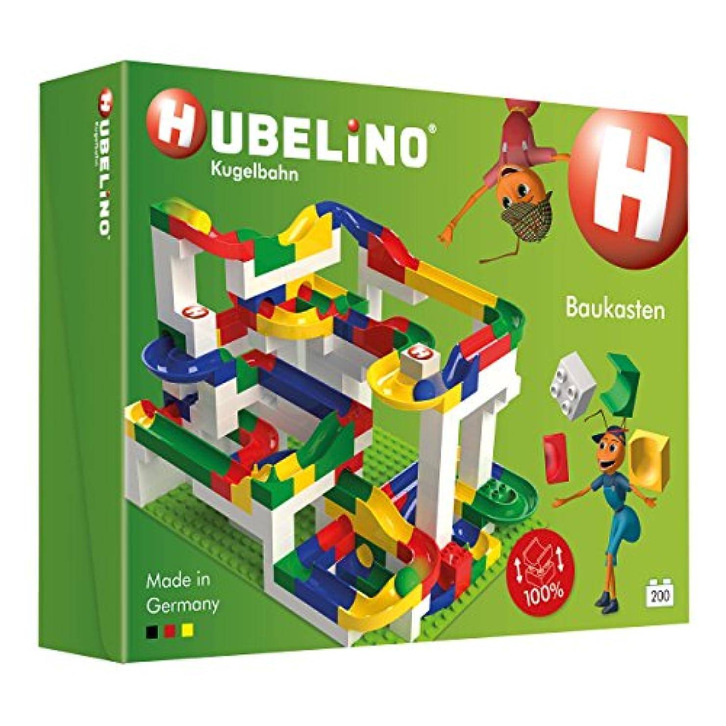 出発するラック誇りに思うHubelino 200 piece construction set