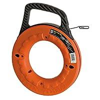 Klein Tools 50169フィッシュテープ、オレンジ、19 m / 457 mm