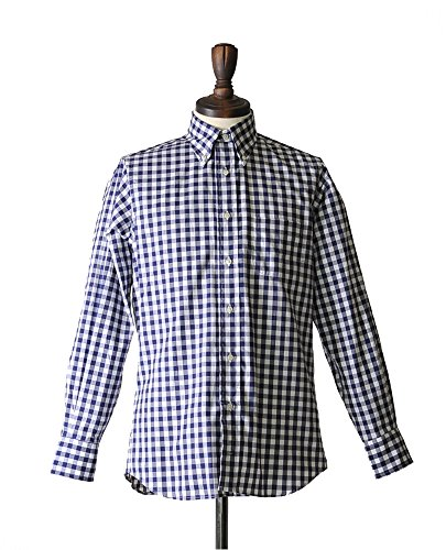 INDIVIDUALIZED SHIRTS big gingham check/スタンダードフィット ボタンダウンシャツ【全2色】【ラッピング可】【即発送可】