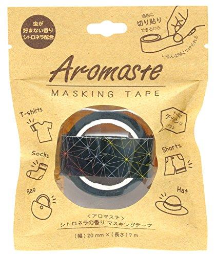ノルコーポレーション マスキングテープ 香り付き シトロネラの香り AOZ-1-06 ナイトスター