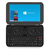 GPD WIN 黒 + 液晶保護フィルム付属 (Windows10 /5.5inch /IPS液晶 /Intel Atom X7 Z8700) (4GB/64GB)(USB Type-C /USB3.0 /HDMI /Bluetooth4.1) (タッチパネル /Gorilla Glass 3 /Gamepad Tablet PC /UMPC) (ブラック) [正規輸入品] (4GB/64GB 黒)