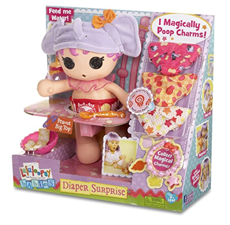 Lalaloopsy Babies Diaper Surprise Peanut Big Top Doll by Lalaloopsy