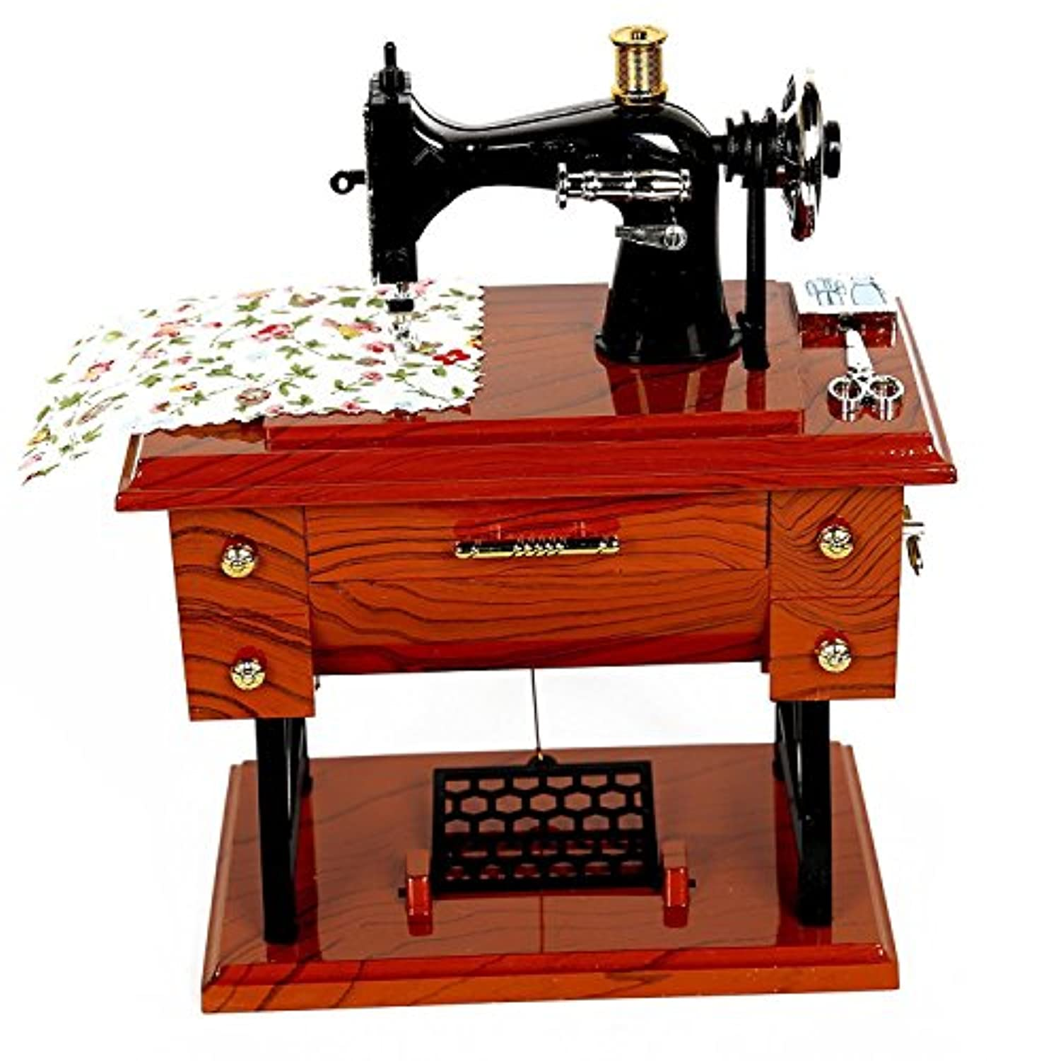 alibb Musical Sewing Machine音楽ボックスヴィンテージLook