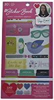 American Crafts 30 Sheet Book Rose Gold Foil Paige Evans Stickers
