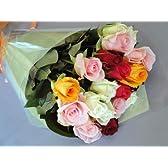 バラの花束 バラ22本(Mサイズ)