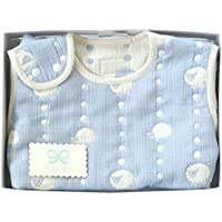 Hoppetta 6重ガーゼ スリーパー ギフトセット ブルー (ベビーサイズ) 18111038 赤ちゃん