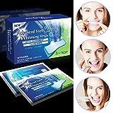国内在庫 28の歯のホワイトニングストリップ(上14枚下14枚)14回分シート 3D 28 Teeth Whitening Strips ホワイトニング入門用 [並行輸入品]