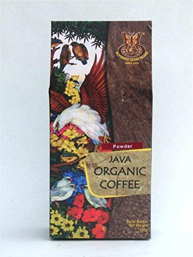 KUPU-KUPU クプクプ オーガニック バリコーヒー JAVA ORGANIC COFFEE 100g パウダー 【 BALI お土産 人気 インドネシア コーヒー豆 粉末 珈琲豆 バリコピ 】[並行輸入品]