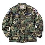 AVIREX アビレックス 6172112 CVIL AIR PATROL BDU ジャケット(M 098:CAMO)