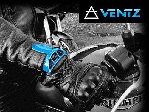 【VENTZ】 暑い時期のツーリングに!VENTZ(ヴェンツ) エアーインテーク 走行中の風を取り込みジャケット内の熱気を襟元から逃がす!【QQ1LIK675】 レッド(038)