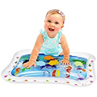 Hoovy ベビー 水遊びマット フィル'N Fun 水遊びマット 子供用 幼児用 楽しいカラフルプレイマット ベビーマット