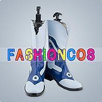 サイズ選択可女性24.5CM UC044 ドラマティカル マーダー DRAMAtical Murder 蓮 len コスプレ靴 ブーツ