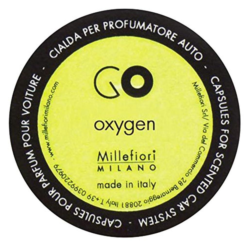些細な司令官Millefiori カーエアフレッシュナー GO レフィル オキシゲン 1pcs RGOX