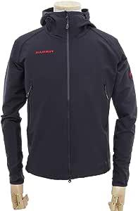 マムート SOFtech CLIMB Light Hooded Jacket Men ソフテック クライムライトフーディー ジャケット Black/ブラック 1010-23000 XL