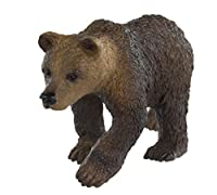 Safari Ltd. Wild Safari North American Wildlife Grizzly Bear Cub Educational Hand Painted Figurine Quality Construction from Safe and BPA Free Materials for Ages 3 and Up [並行輸入品]