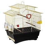 ファープラスト 鳥かご パゴダ ゴールド PAGODA BRASS 鳥籠 ゲージ フルセット カナリア セキセイインコ 小型鳥用