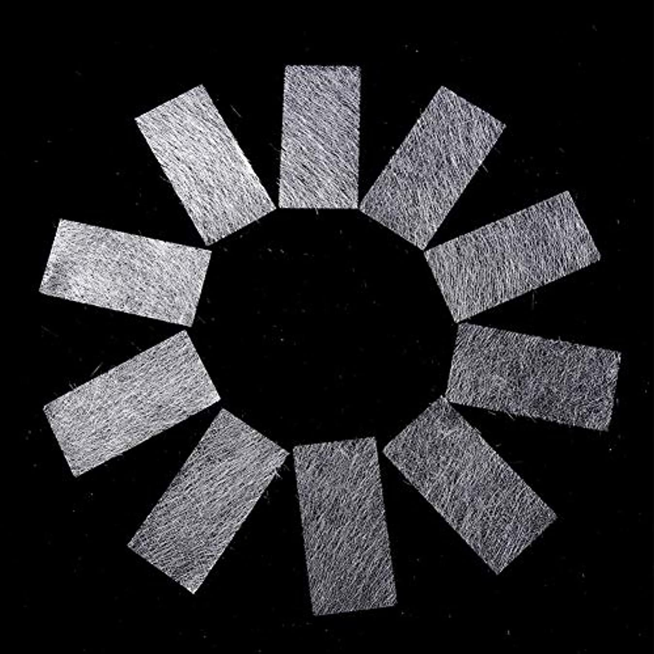拡散する抽象喜びMurakush ネイルタオル 不織布 不織布 シルク 長くなるように 偽ネイル 5pcs/10pcs 10PCS